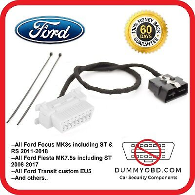Ford Transit Custom up to 2017 DUMMY OBD PORT anti-theft fake OBD replacement