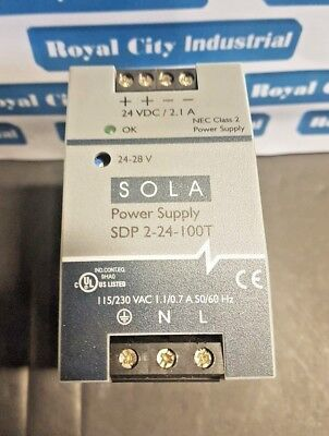 Sola Sdn 2-24-100T Power Supply