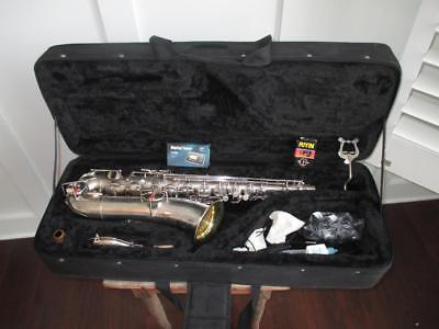 Vintage 1922 Buescher Low Pitch True Tone C-Melody Saxophone Gold Wash Bell NICE