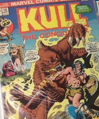 Kull the Conqueror #2 4 5 6 8 9 10 11 13 14 15 (1971, Marvel)