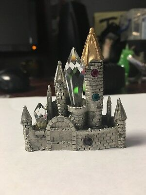 Pewter Castle 2 1/2 Inches Tall Signed Comstock
