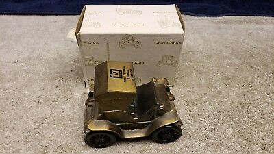 1974 Banthrico's 1904 Studebaker Cast Metal Coin Bank 1st Federal Savings Mich.