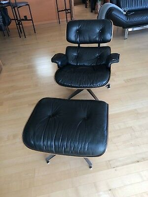 Astonishing Vintage Original 1989 Rosewood Eames Lounge Chair And Gamerscity Chair Design For Home Gamerscityorg
