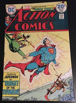 Action Comics #432 Key Issue 1st Appearance Bronze Age Toyman