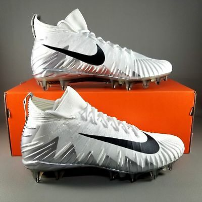 5e6677abd Mens Nike Alpha Menace Elite Football Cleats 11.5 White Black Silver  877140-100
