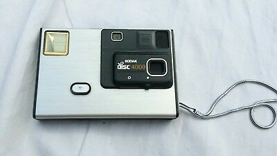 Retro camera Vintage photography decor KODAK Disc 4000 Flash old picture frame