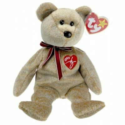 TY Beanie Baby  Signature Bear Plush Collectible