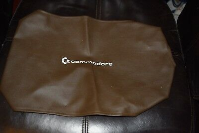 Vintage Commodore 64 C64 Official Faux Leather Computer Dust Cover Protector