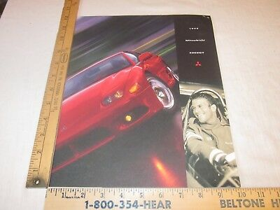 1998 Mitsubishi GT 3000 Sales Brochure With Attached Pricing New Condition