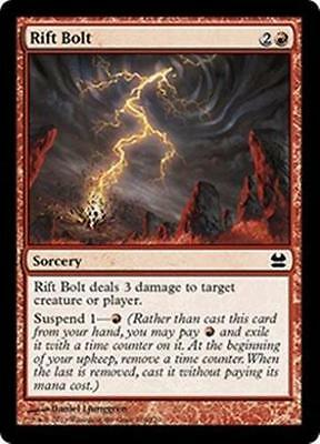 1x RIFT BOLT - Rare - Modern Masters/Duel Deck - MTG - NM - Magic the Gathering