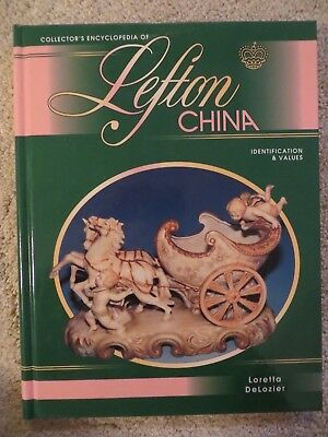 LEFTON CHINA COLLECTORS ENCYCLOPEDIA ~ DeLozier ~ 1995 ~ Hard Cover ~ EUC