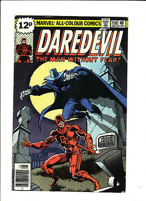 """Daredevil #158 May 1979 Very Fine- """"a Grave Mistake"""" First Frank Miller"""
