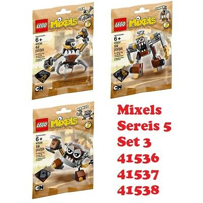 LEGO Mixels Series 5 Unopend polybag 41538 Kamzo New in Sealed Package