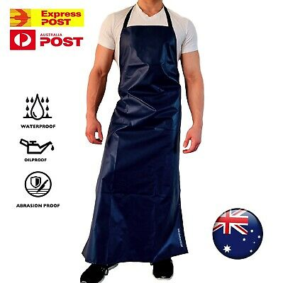 Heavy Duty Apron Waterproof Work Pvc Protective Industrial Kitchen Butcher Chef