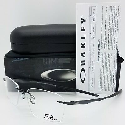 f9e4f8ebf6 NEW Oakley Wingfold EVS RX Prescription Rimless Eye Frame OX5115-0453 53mm  5115