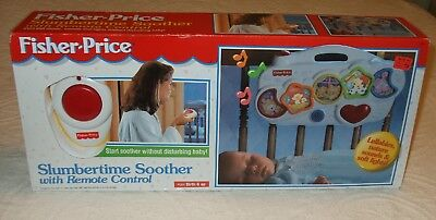 Vintage 1998 Fisher Price Slumbertime Soother W/Remote control Brand New  RARE!