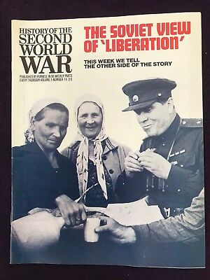 """1968 UK Purnell magazine """"HISTORY OF THE SECOND WORLD WAR"""" Volume 5 Number 16"""