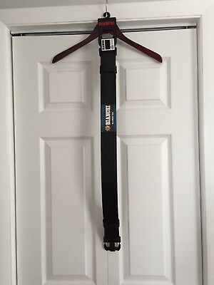 "Bianchi Duty Belt Model 7950 In Black Basketweave Size Small 28""-34"""