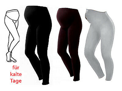 NEU warme UMSTANDSLEGGINGS dicke Leggigns S M L XL XXL Winter