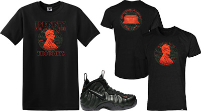 c0fe7bec WE WILL FIT Shirt to match Nike Foamposite Pro Sequoia Black Orange ...
