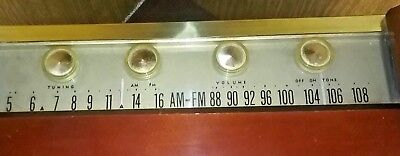 Philco Wood Radio Model 6978 works and looks great excellent condition