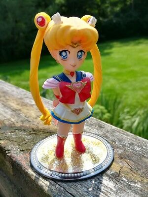 Rare! Authentic Super Sailor Moon G-Port SD Hand-Painted Garage Kit Mini Figure