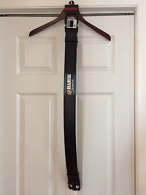 "Bianchi Duty Belt Model 7950 In Black Plain Size X-large 46""-52"""