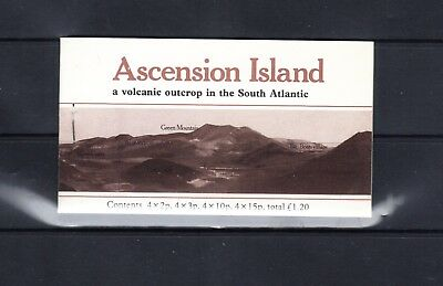 Ascension Island - 1981 Ascension Island Flowers Booklet - Scott Sb3 - Mnh