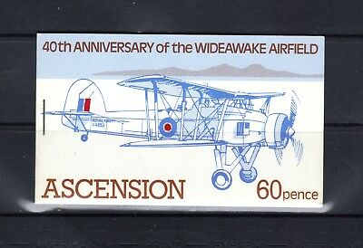 Ascension Island - 1982 Wideawake Airfield Booklet - Scott Sb4 - Mnh