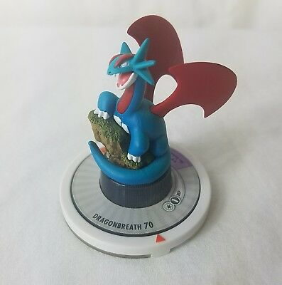 Pokemon Trading Figure Game SALAMENCE 25/42 White Ring TFG Next Quest 2006 Spins