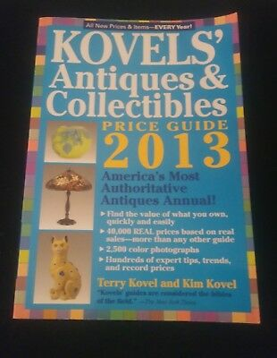Kovel's Antiques & Collectibles Price Guide 2013