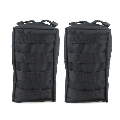 2PCS Tactical Molle Pouch Utility Pouch EDC Gadget Gear Bag Military Waist Pack