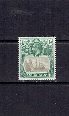 ASCENSION ISLAND - 1924 - 1p SEAL OF THE COLONY - SCOTT 11 - MH