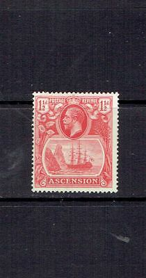 ASCENSION ISLAND - 1924 - 11/2p SEAL OF THE COLONY - SCOTT 12 - MH