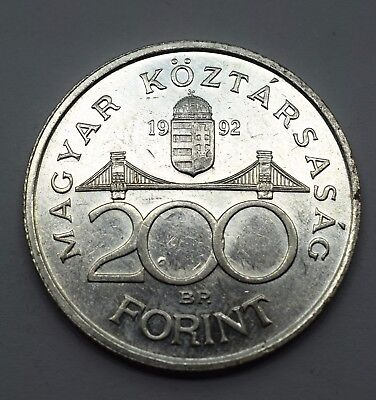 Hungary 200 Forint National Bank - UNC & 50% Silver - Lot 269