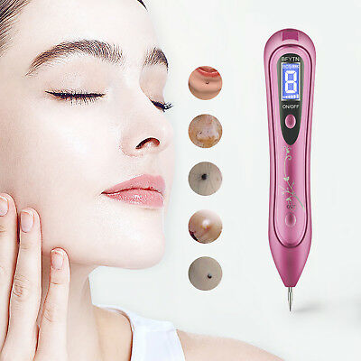 LASER AGE SPOT Pen Mole Acne Warts Freckle Tattoo Scars Removal