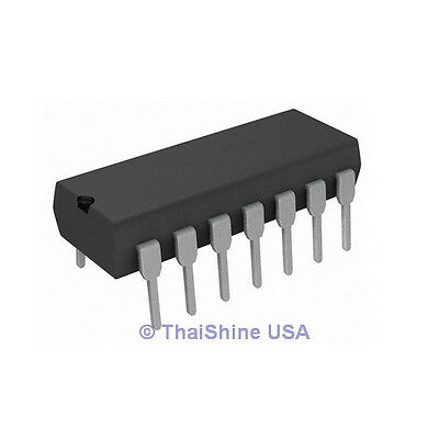 TLC274 Quad Operational Amplifier Precision Op-Amp IC - USA Seller Free Shipping