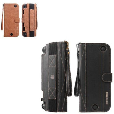 Sprint Leather Case Wallet Design Dual Layer Hybrid Cover For Nintendo Switch