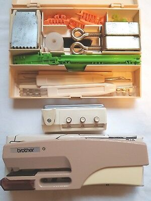 Brother Knitting Machine Parts Punch Card Series Full Tool Kit And Accessory Box