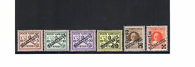 1948 VaticanVatikan City Postage stamps 6 val n° 1/6 Centered MNH