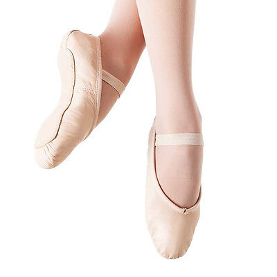 CLOSE-OUT SALE!! SoDanca BALLET SLIPPERS ~ Little Kids 12.5 ~Full Sole Leather
