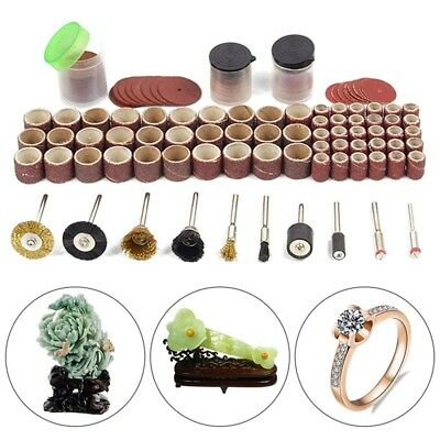 150pcs Rotary Outil Accessoire Bits Kit pour Dremel Grinding Hobby Drill outil