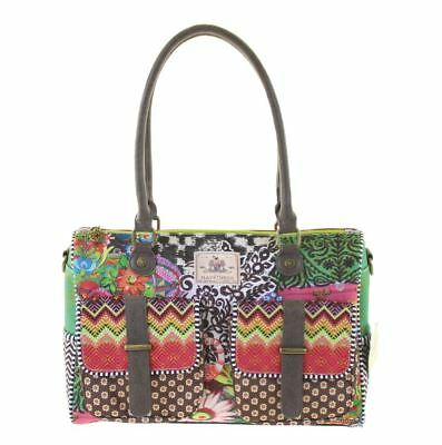Hand-Shoulderbag, Medium, Quintana, Happiness, Taz Trade, Tasche