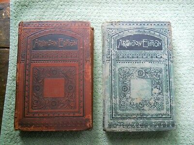 "Lot Of 2 Antique Arlington Edition Books ""the Praire"" And ""guilderoy"""