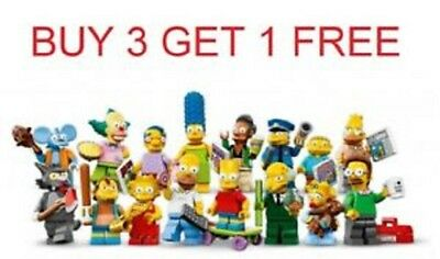 Lego Simpsons Series 1 Minifigures 71005 Choose Pick Your Own All 16 In Stock