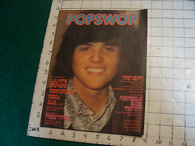 Donny Cover English mag POPSWOP may 12, 1973:roger daltrey back cover