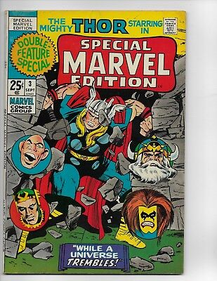 Special Marvel Edition #3 featuring Thor by Jack Kirby Very Good