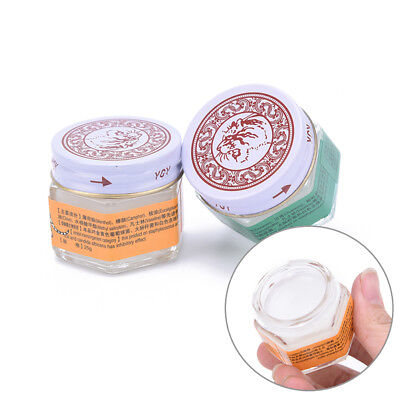 Original Tiger Red White Balm Thai Massage Ointment Relief Muscle Ache Pain ZJH