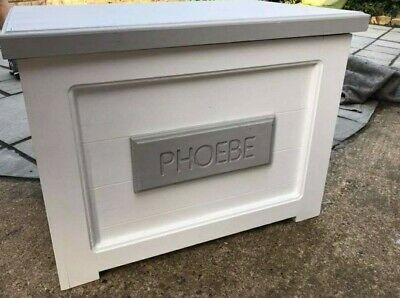 Personalised toy box chest storage perfect Christmas gift kids playroom Susa