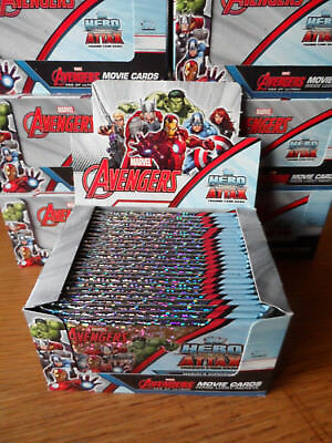 Topps Marvel Avengers Hero Attax Full Box Of 24 Packs